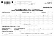 Составлю декларацию по УСН 6% 18 - kwork.ru