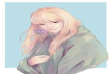 Нарисую портрет или персонажа 29 - kwork.ru