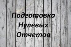Заполнение нулевой страховой отчетности в налоговую, ФСС, ПФР 13 - kwork.ru