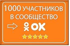 1000 +100 живых участников в группу Одноклассники 5 - kwork.ru