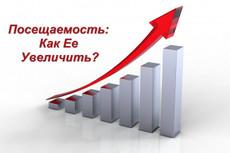 Увеличим количество посетителей сайта на 400 в сутки в течение месяца 26 - kwork.ru