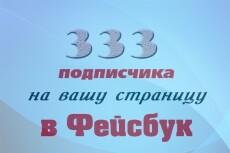 Добавлю 2000 вечных подписчиков на паблик в Facebook 8 - kwork.ru