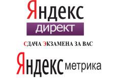Новый Сертификат Яндекс Директ. Помощь в сдаче экзамена Яндекс Директ 9 - kwork.ru