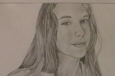 Напишу портрет карандашом 19 - kwork.ru
