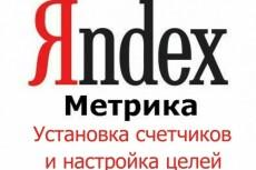 Установка Я.Метрики и Я.Вебмастер 17 - kwork.ru