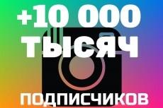 +1000 Подписчиков в ваш аккаунт instagram, отличное качество 16 - kwork.ru