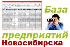 База предприятий Екатеринбурга 30 - kwork.ru