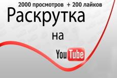 Подписчики в Youtube 44 - kwork.ru
