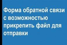 Поставлю и настрою форму обратной связи на любом сайте 15 - kwork.ru