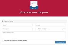 Работа с формами обратной связи 19 - kwork.ru