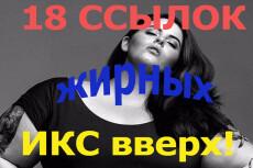 Тащим траст вверх, 17 жирных ссылок. ИКС растет как на дрожжах 12 - kwork.ru
