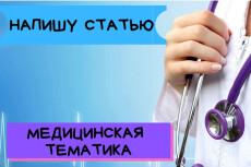 Напишу одну качественную статью объемом до 5000 знаков 15 - kwork.ru