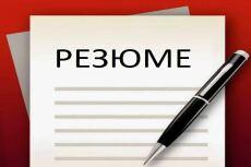 Поможем составить правильное резюме 20 - kwork.ru