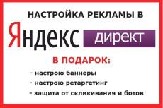 Создание и настройка рекламы под ключ на Поиск - Яндекс Директ 12 - kwork.ru