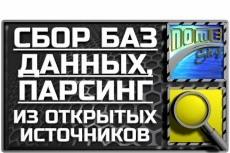 E-Mail база ресторанов России. 14758 адресов 4 - kwork.ru
