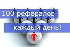 Привлеку 20 рефералов в Ваши проекты или сервисы 14 - kwork.ru