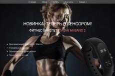 Cайт-визитка/landing page на html 5 13 - kwork.ru