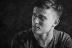 Стилизация фото под портрет карандашом, скетч , скетч с элементами 3D 28 - kwork.ru