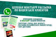 WhatsApp, Ватсап рассылка. Гарантия Доставки. Проверю базу номеров 3 - kwork.ru