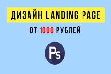 Убойный дизайн лендинга + продающий текст 17 - kwork.ru