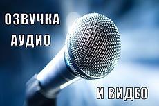 Запишу мужской голос для автоответчика 20 - kwork.ru