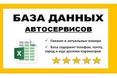 База данных продукты питания, напитки 21 - kwork.ru