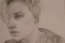 Напишу портрет карандашом, в электронном виде 6 - kwork.ru