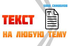 Напишу качественный текст 4000 знаков 48 - kwork.ru