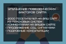 500  уникальных посетителей в сутки 8 - kwork.ru