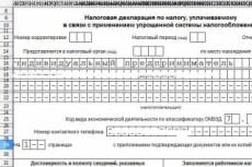 Декларация УСН 6% ИП 18 - kwork.ru