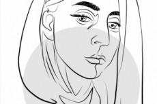 Рисую портрет карандашом 13 - kwork.ru