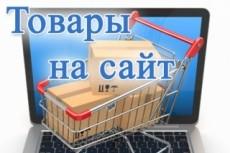 Наполнение сайта товаром или контентом 18 - kwork.ru