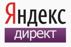 50 объявлений Яндекс. Директ + бесплатное ведение рекламы 23 - kwork.ru