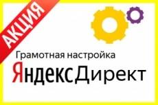 Профессиональная настройка контекстной рекламы в сервисе Яндекс. Директ 19 - kwork.ru