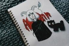 Сделаю качественный арт вашего персонажа 16 - kwork.ru