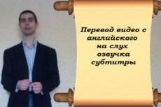 Перевод видео с английского языка 22 - kwork.ru