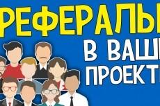 Привлеку 50 рефералов на ваш проект 23 - kwork.ru