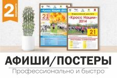 Разработаю для вас стильный макет листовки, флаера 24 - kwork.ru