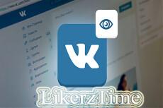Ваше видео в 150 живых аккаунтов ВКонтакте 11 - kwork.ru