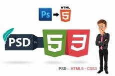 Адаптивная, кроссбраузерная, верстка html-CSS-JS 19 - kwork.ru