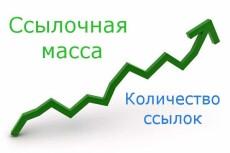 Естественные ссылки на сайт, тиц 12000 як, дмоз 17 - kwork.ru