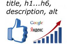 Зарегистрирую сайт в сервисах аналитики Яндекс Метрика и т. п 6 - kwork.ru