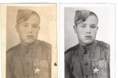 Восстановлю старую фотографию 14 - kwork.ru