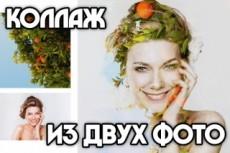 Создание коллажа из ваших фотографий 29 - kwork.ru
