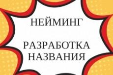 Нейминг и брендинг 26 - kwork.ru