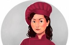 Создам мультяшный портрет 12 - kwork.ru