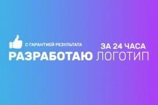 Создам логотип для вашего бизнеса 16 - kwork.ru