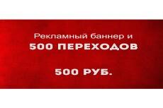 3000 показов баннера живой аудитории 21 - kwork.ru