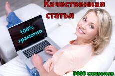 Напишу 6 тысяч символов качественного уникального текста 18 - kwork.ru