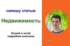 Напишу обо всём, что связано с домом - от постройки до обстановки 7 - kwork.ru